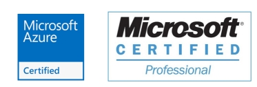 Logo certificado Microsoft Azure