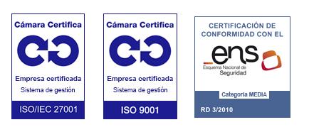 Certificados de Empresa Cloud