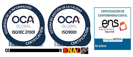 Certificados de Empresa Cloudbuilders