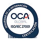 Certificado OCA 27001 de Cloudbuilders