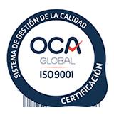 Certificado OCA 9001 de Cloudbuilders